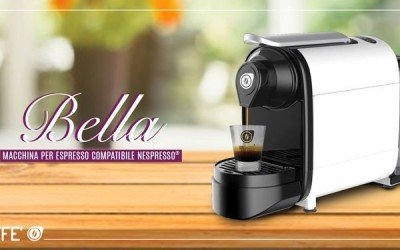 BELLA espresso coffee maker by 101CAFFE' is really beautiful!