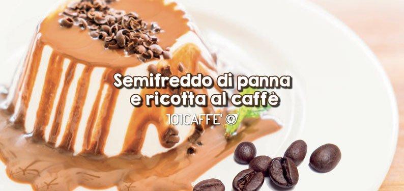 101RECIPES: Cream and ricotta semifreddo with coffee