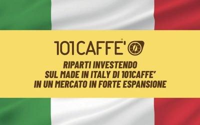 Riparti investendo sul Made in Italy di 101CAFFE' in un mercato in forte espansione