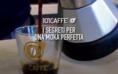 The perfect Moka by 101CAFFE'