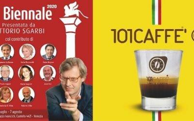 CS – 101CAFFE' PARTNER DI PRO BIENNALE: L'ARTE A VENEZIA RIPARTE DOPO LA PANDEMIA
