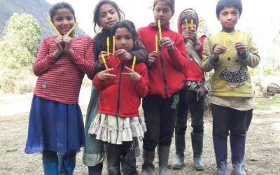 200 Pens give a great hope to children in Nepal