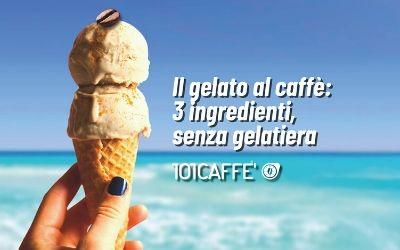 101RICETTE: Gelato al caffè senza gelatiera