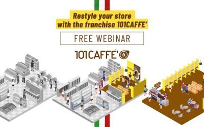 Restyle your store with the franchise 101CAFFE'