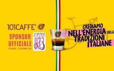 101CAFFE' IS BACK ON BIKE SADDLE WITH YOUNG RIDERS OF GIRO D'ITALIA U23