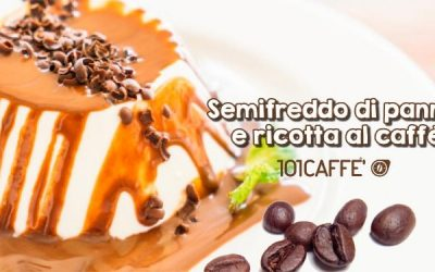 101RECIPES: Cream and ricotta semifreddo with coffee