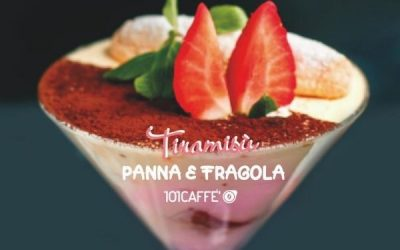 101RECIPES: Tiramisù con Panna e Fragola (cream and strawberry)