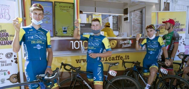 Retour des Championnats du Monde de Cyclisme sur Route en Italie: 101CAFFE' aux côtés des athlètes