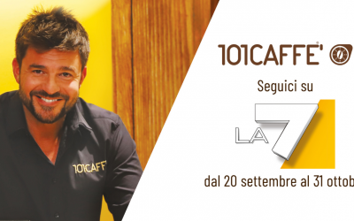 101CAFFE': the first national advertising campaign is launched