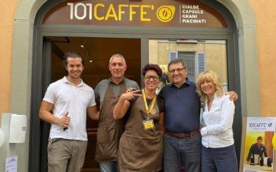 Nuova apertura 101CAFFE' a Bergamo: quando l'azione vince sulla paura