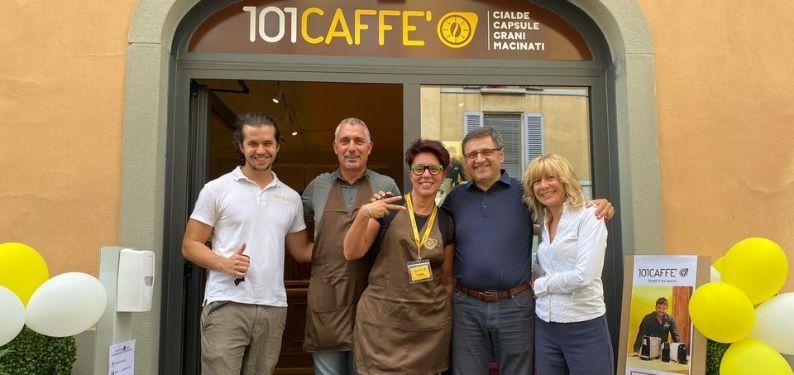 Nouvelle ouverture 101CAFFE' à Bergame: quand l'action l'emporte sur la peur
