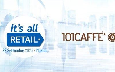 101CAFFE' attending the new edition of IT'S ALL RETAIL