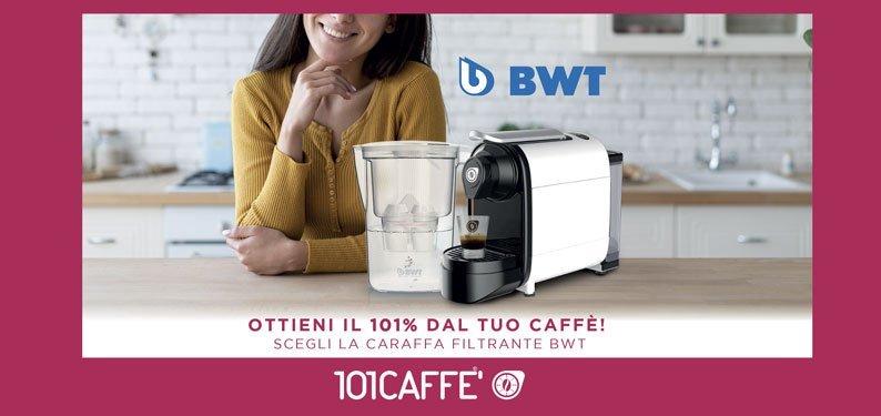 Das perfekte Wasser für 101 Kaffee- Genuss