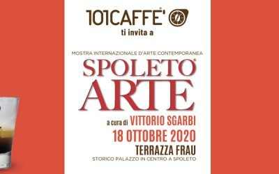 101CAFFE' AT THE INTERNATIONAL EXHIBITION SPOLETO ARTE, CURATED BY VITTORIO SGARBI