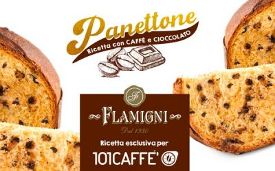 PANETTONE Flamigni with coffee, an exclusive recipe for 101CAFFE'