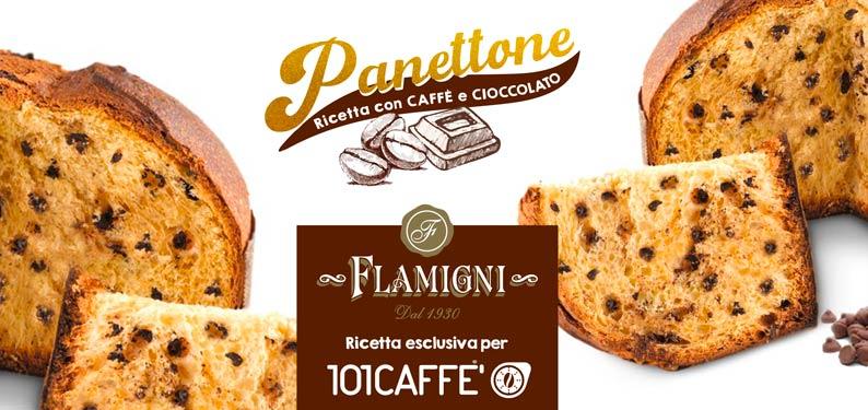 PANETTONE  Flamigni mit Kaffee exklusiv für 101CAFFE'