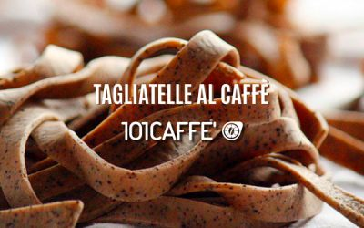 Tagliatelle with coffee
