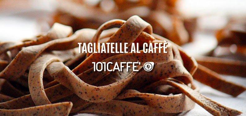 Tagliatelle with coffee