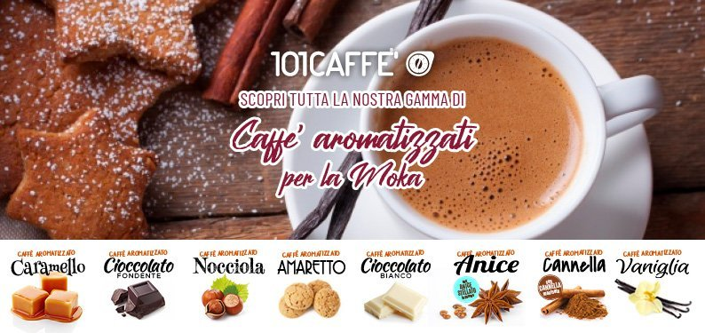 Coffee with the aromas of your Christmas