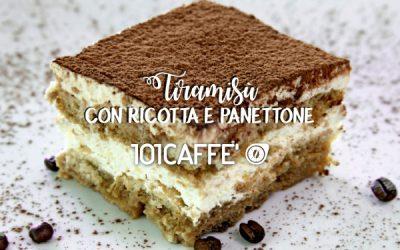 101RECIPES: Tiramisu with ricotta and panettone