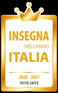 Logo Insegna dell'anno 20-21 101CAFFE'