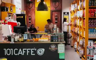 Today 101CAFFE' Franchising Network is also a Take Away Coffee Shop