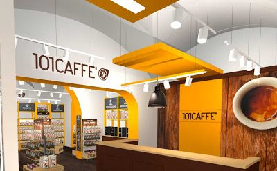 The steps to open a 101 CAFFE' store in Franchising: from the project to the opening