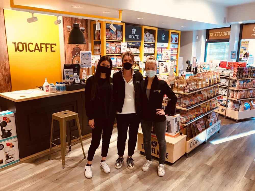 101 CAFFE' - Negozio di bevande, cialde e capsule 101 CAFFE' - Affiliate di un punto vendita in Franchising