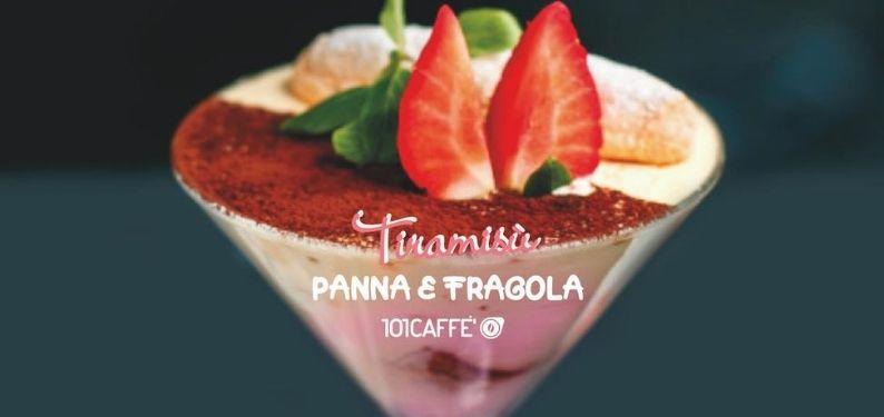 101REZEPTE: Tiramisù mit Sahne und Erdbeeren