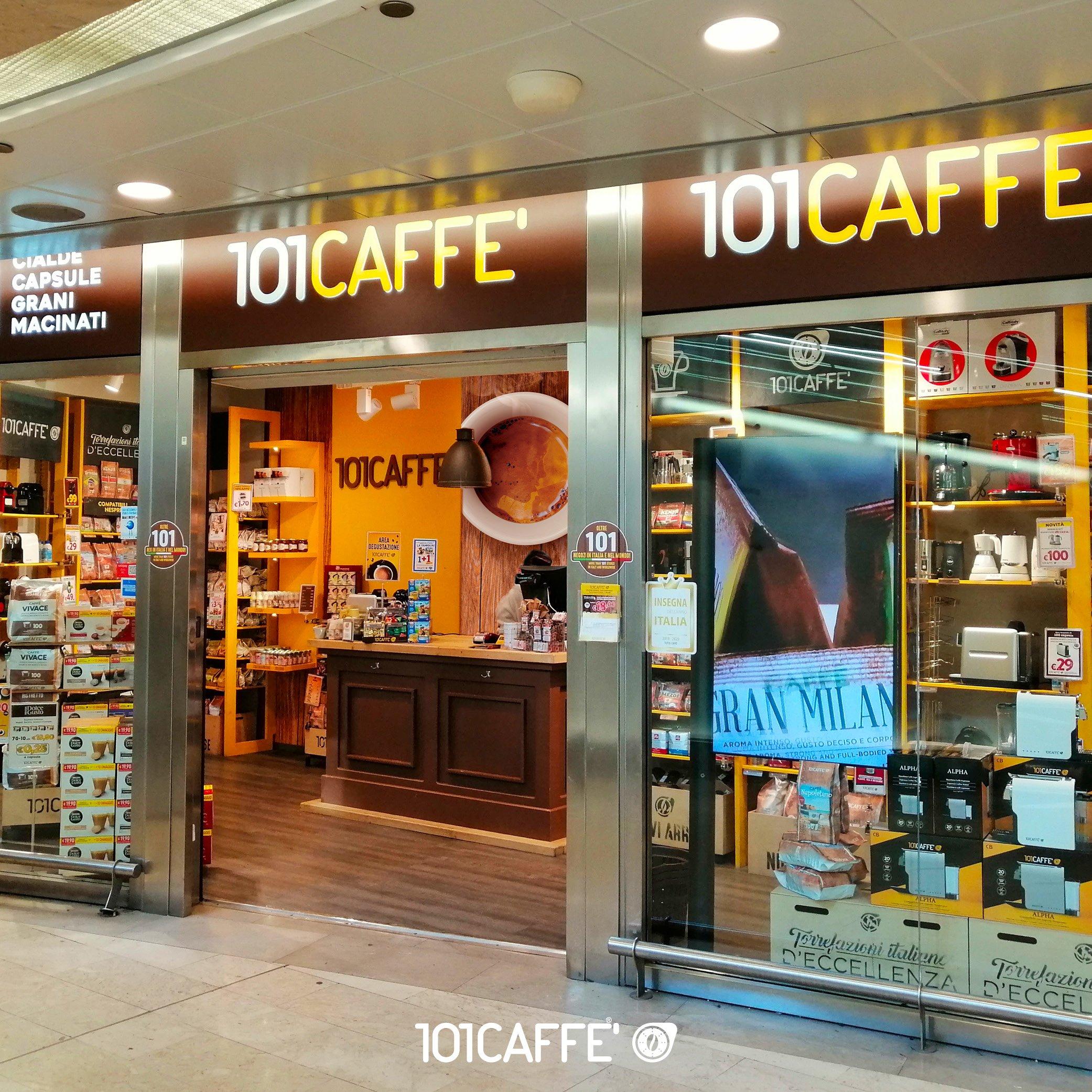 Negozio di cialde e capsule 101 CAFFE' in franchising