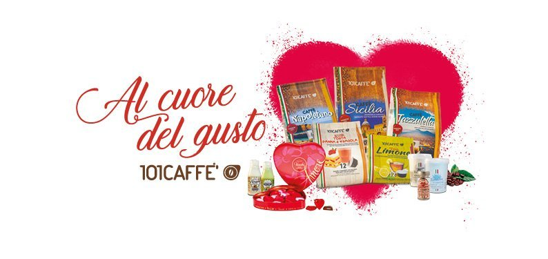 Love is in the air and smells of 101CAFFE'