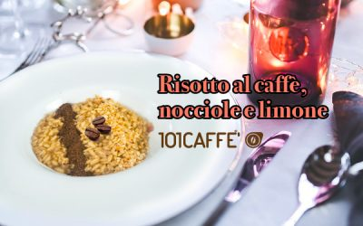 101RECIPES: Risotto al caffè, nocciole e limone (Risotto with coffee, hazelnuts and lemon)