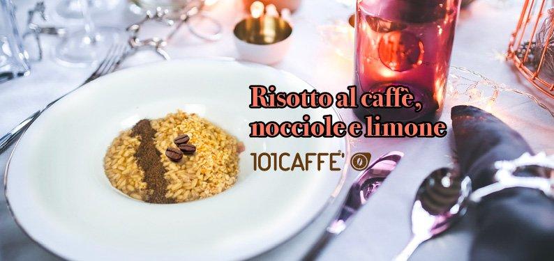 101 RICETTE: Risotto al caffè, nocciole e limone