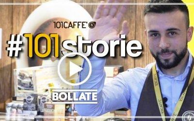 Nouvelle ouverture d'un magasin en franchise 101 CAFFE' à Bollate (Milan) : place aux jeunes !