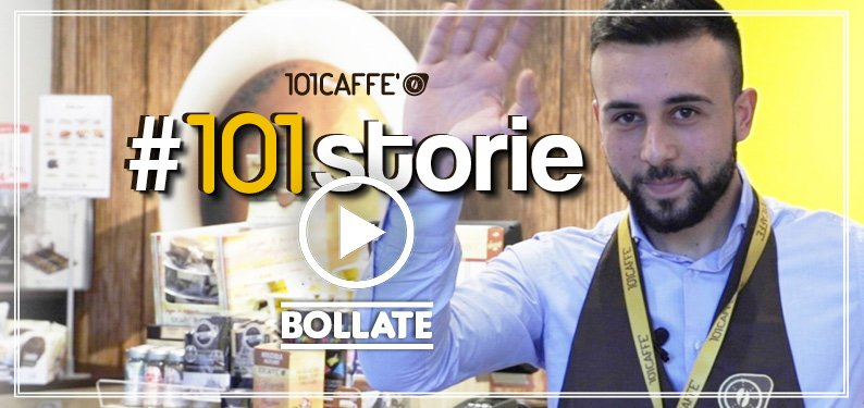 New 101 CAFFE' franchise store opening in Bollate (Milan): Room for young people!