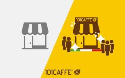 Vous souhaitez attirer des clients dans votre magasin et bar? Intégrez le réseau de Franchise 101 CAFFE' !