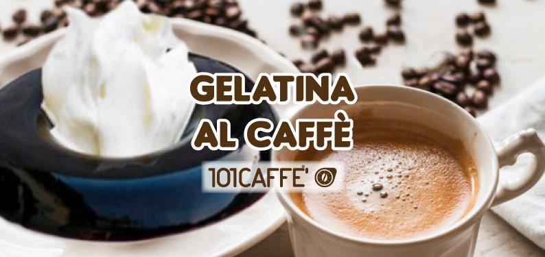 Gelatina al caffè e liquirizia