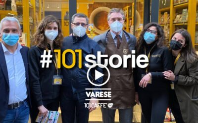 A new 101 CAFFE' Franchising store opens in Varese (Italy)