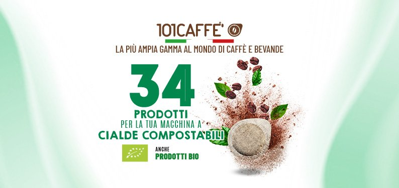 Dosettes compostables_101caffè