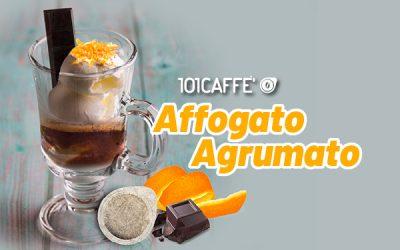 101RECIPES: Coffee gelato float with orange flavor