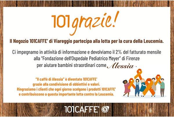 Negozio di caffè in cialde e capsule 101CAFFE' Viareggio
