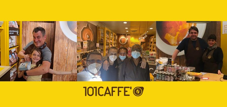 Making the entrepreneurial dream come true is still possible today with 101CAFFE'