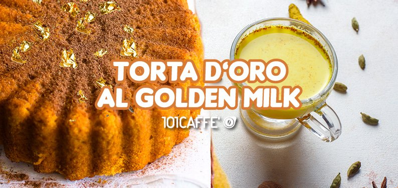 101RICETTE: Torta d'oro al Golden Milk
