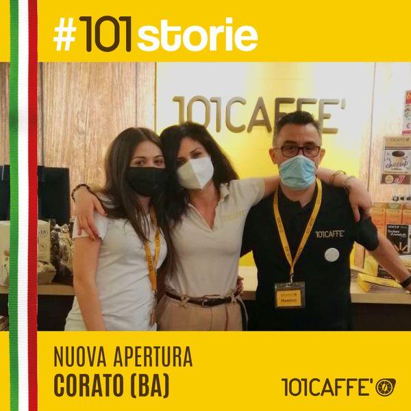 #101storie Franchisig cialde e capsule 101 Caffè - Punto vendita