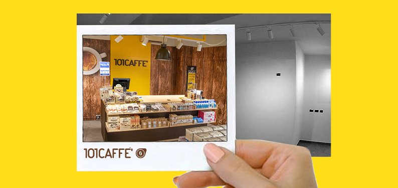 From 0 to 101 CAFFE': make a new start in September with the 101CAFFE' franchise