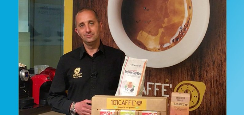 Fedele from the 101CAFFE' in Morciano di Romagna (Rimini) reveals the secrets of his success with clients