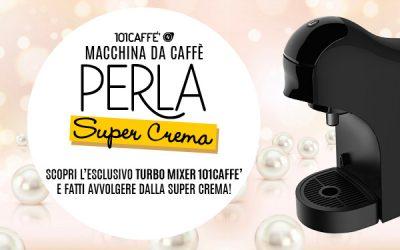 Nuova macchina PERLA SUPER CREMA: metti il turbo al tuo caffè!