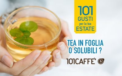 LEAF TEA OR SOLUBLE TEA? HERE ARE THE 101 FLAVOURS FOR YOUR SUMMER!