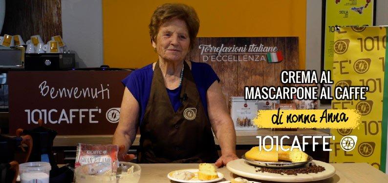 101RICETTE: Crema al mascarpone e caffè – LA RICETTA di NONNA ANNA